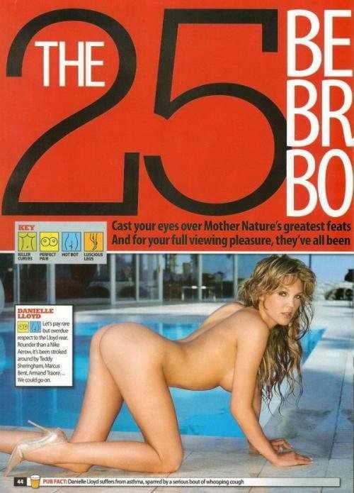 25 лучших тел Британии от журнала Zoo (14 фото)