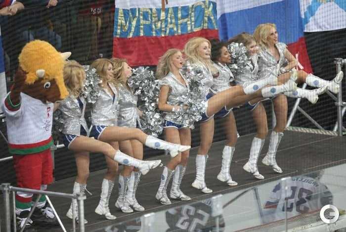 Болельщицы на ЧМ по хоккею (24 фото)