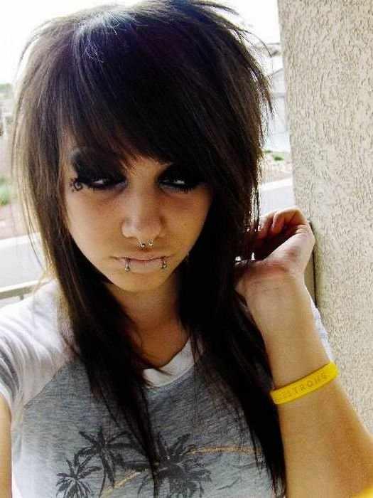 Красивые девушки эмо (78 фото)