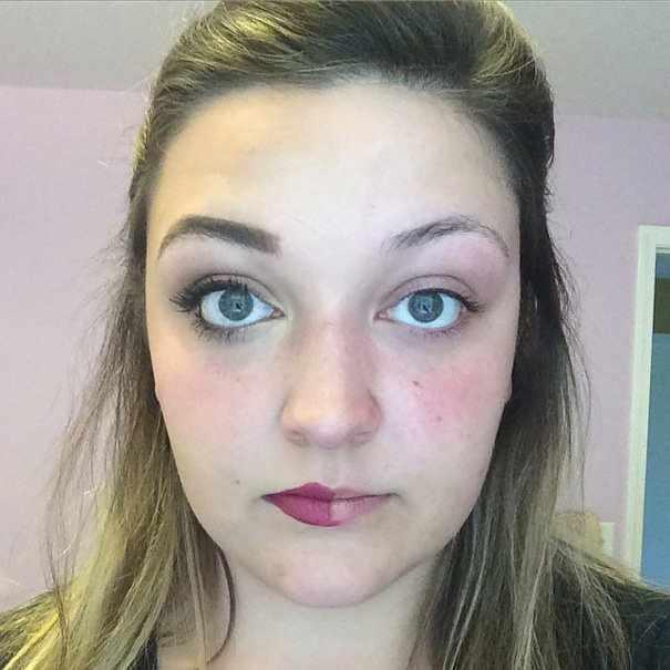 С макияжем и без (28 фото)
