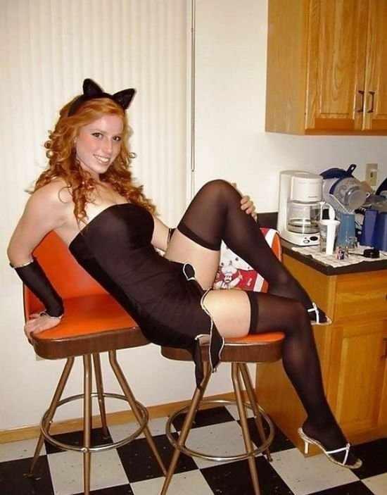 Сексуальные костюмы на Хеллоуин (30 фото)