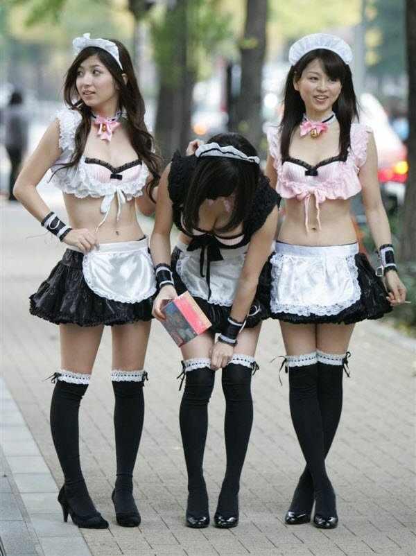 Засветы японских девушек (54 фото)