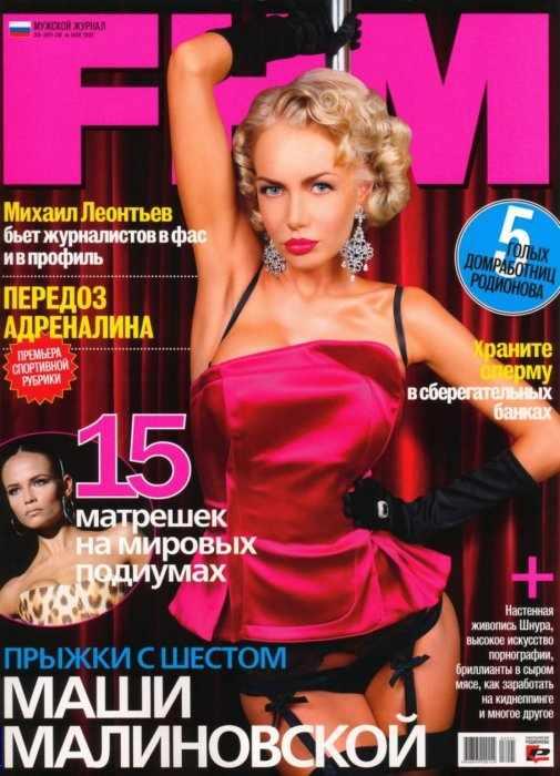 Маша Малиновская FHM (7 фото)