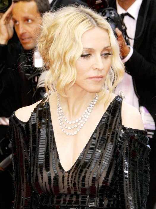 Мадонна засветилась (10 фото)