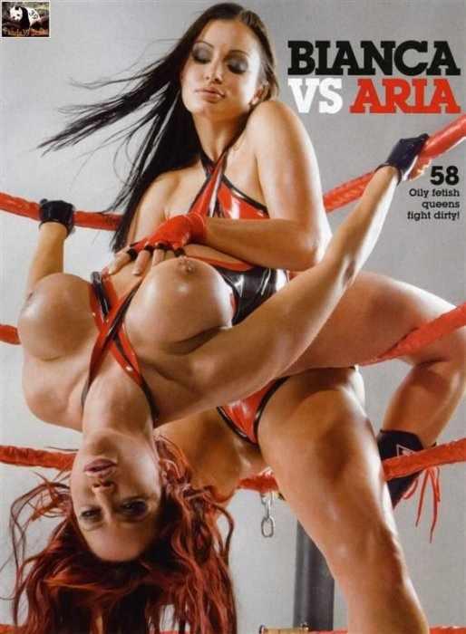 Bianca VS Aria (7 фото)