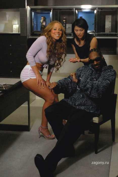 Mariah Carey & Snoop Dogg (10 фото)