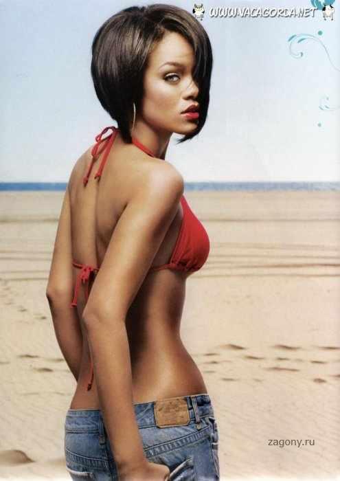 Rihanna в GQ (5 фото)