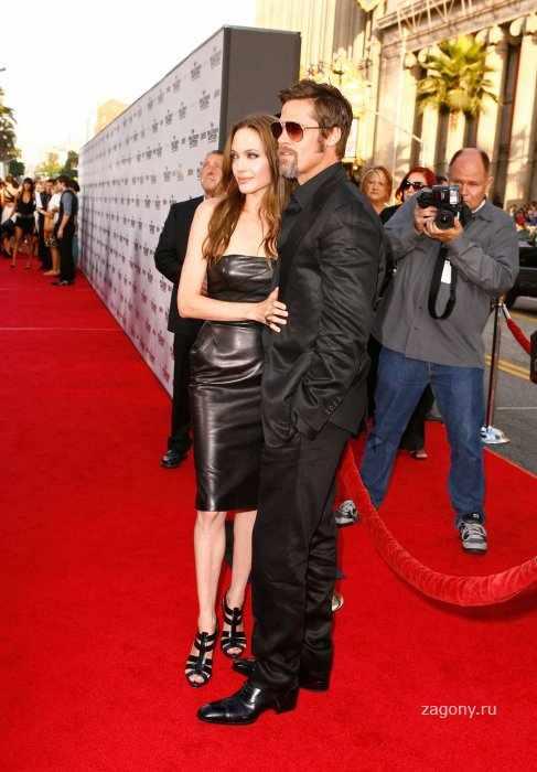 Angelina Jolie & Brad Pitt (19 фото)