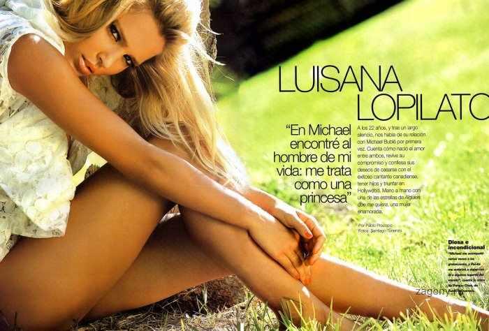 Luisana Lopilato (6 фото)