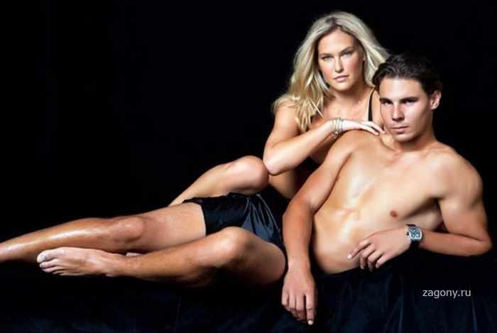 Bar Refaeli & Rafael Nadal (7 фото)