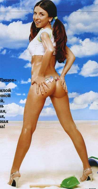 Анна Плетнева в журнале MAXIM (7 фото)