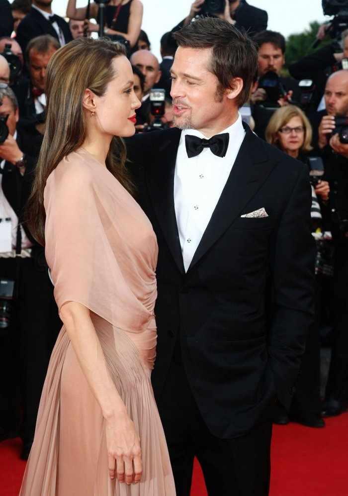 Анжелина Джоли и Бред Питт (20 фото)