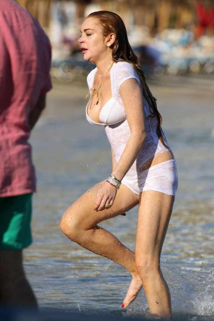 Линдси Лохан (3 фото)