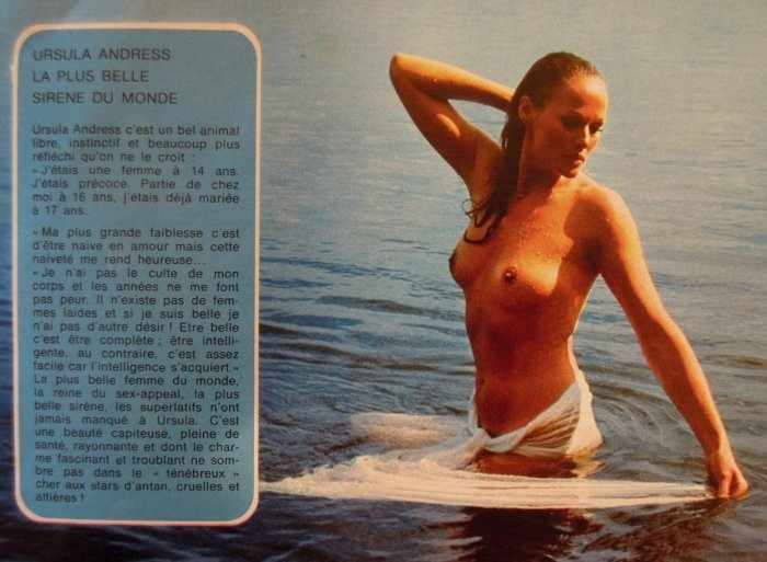 Урсула Андерс. Секс-символ 60х. НЮ (16 фото)